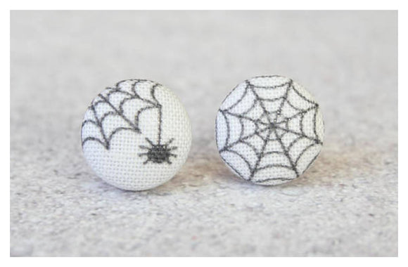 Earrings ~ Spider and Web