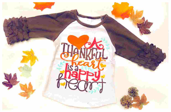 Children's Shirt - A Thankful Heart
