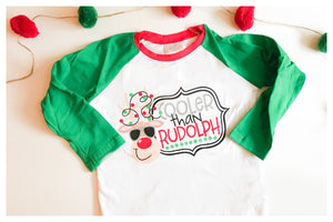 Children's Shirt - Cooler Than Rudolph