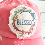 Cap - Blessed - Coral