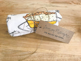 Tea Towel - Lemon Meringue Pie