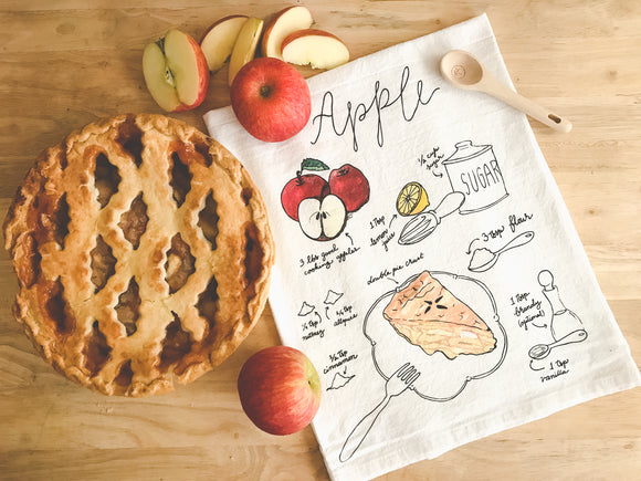 Tea Towel - Apple Pie