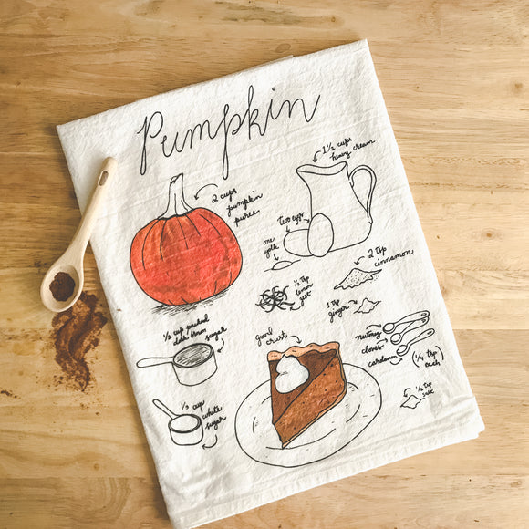 Tea Towel - Pumpkin Pie