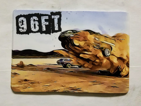"Grant ""96 Feet"" Sticker"