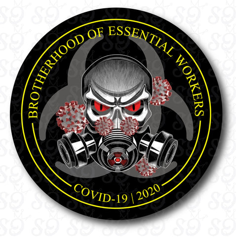 Brotherhood of Essential Workers Sticker