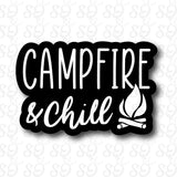 Campfire & Chill Sticker