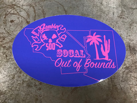 Out Of Bounds Sticker