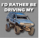 I'd Rather Be Driving My Prerunner Sticker