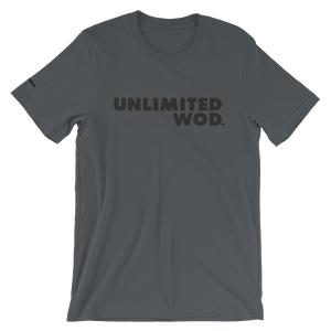 Short-Sleeve Unisex T-Shirt / UW BASIC (BLACK TYP)