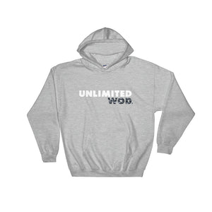 Hooded Sweatshirt / UW CRACK BLACK