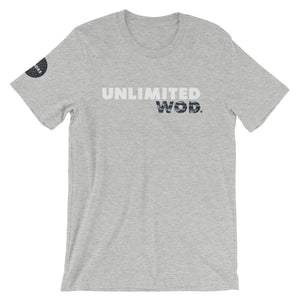 Short-Sleeve Unisex T-Shirt / UW CRACK BLACK