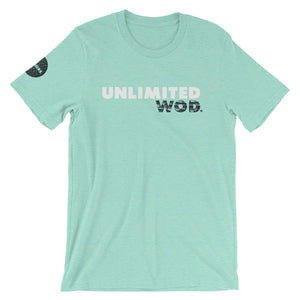 Short-Sleeve Unisex T-Shirt / UW CRACK GREEN
