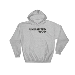 Hooded Sweatshirt / UW BASIC (BLACK TYP)