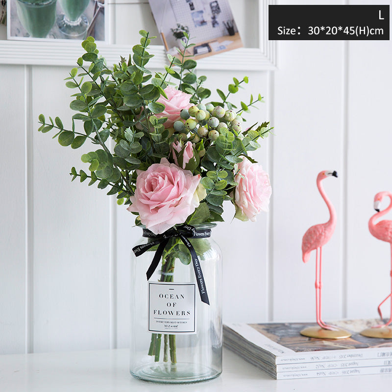 225 & Artificial Flower Bouquet with Vase