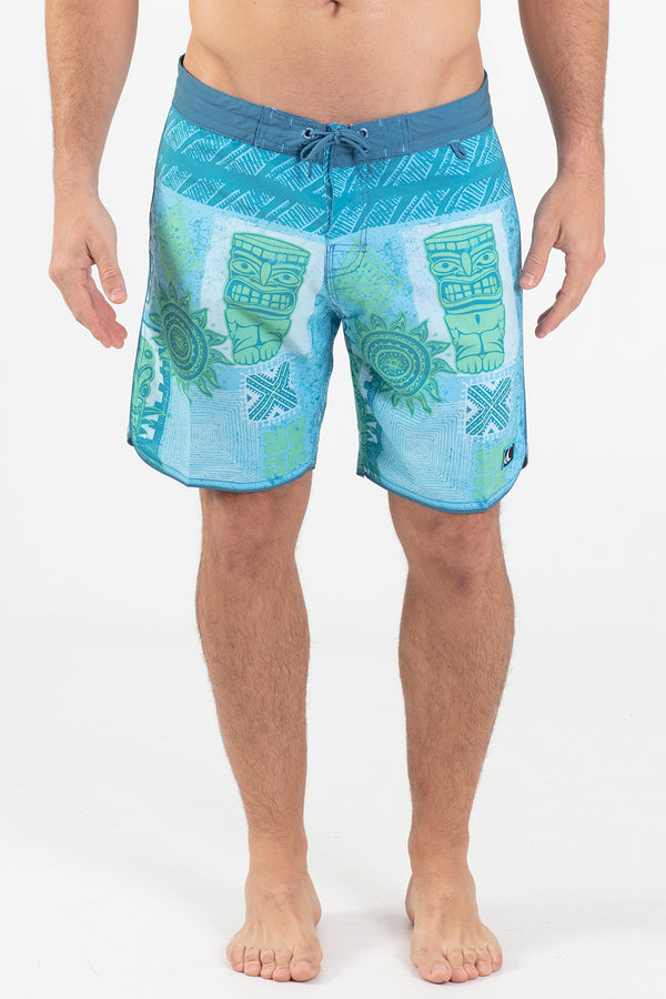 "LONO 17"" SCALLOPED HEM BOARDSHORT"