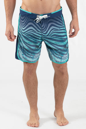 "HYPNOTIC 17"" SCALLOPED HEM BOARDSHORT"