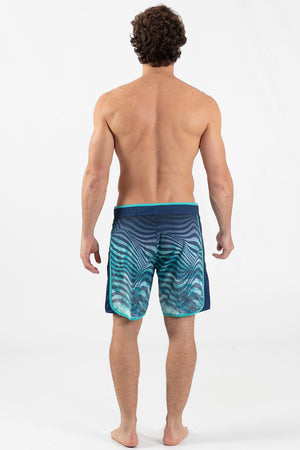 "Hypnotic 17"" Scalloped Hem Boardshort - Wavelife"