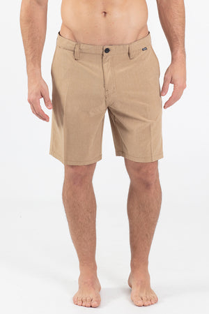 "TOM KHAKI 20"" HYBRID WALKING SHORT"