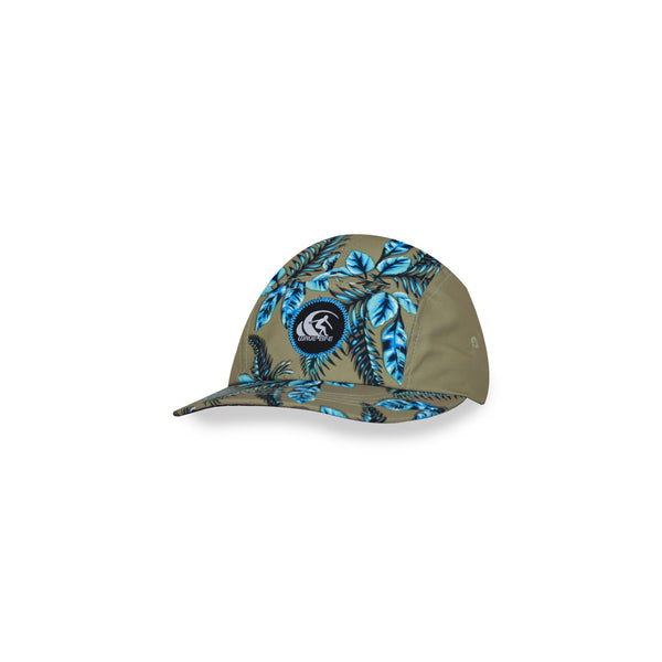 Leafy 5 Panel Cap Turquoise - Wavelife