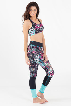 Paisley Park Reversible Active Racer Back Top