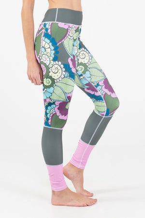 Paradise Garden Active Legging - Wavelife