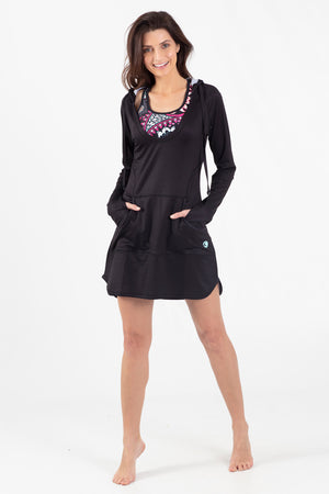 Paisley Park Hoodie Coverup - Wavelife