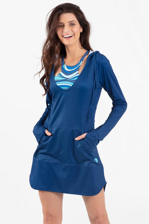 Aqua Spray Hoodie Coverup - Wavelife