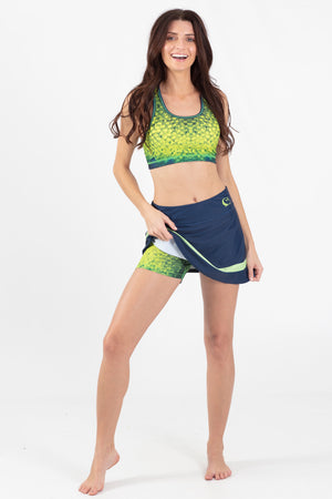 Mahi Mahi Active pieced Skort