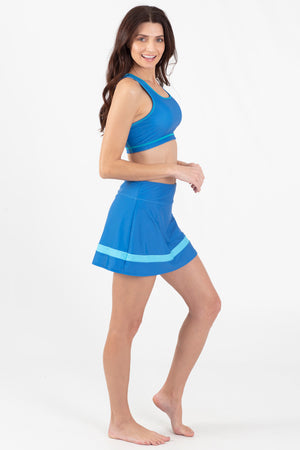 Blue Marlin Active pieced Skort - Wavelife