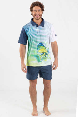 Mahi Mahi Performance fishing polo - Wavelife