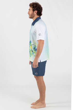 Mahi Mahi Performance fishing polo