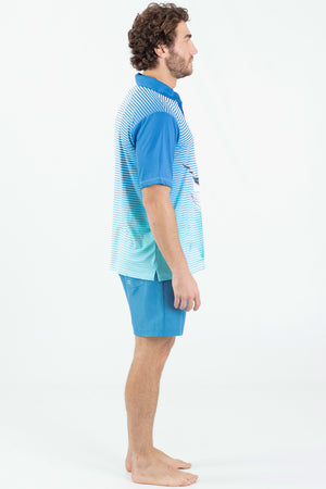 Blue Marlin Performance fishing polo - Wavelife