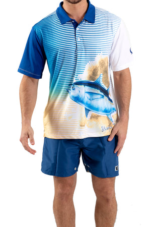 Tuna Performance Fishing Polo - Wavelife