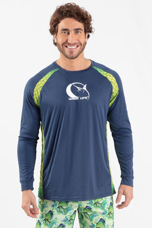 Mahi Mahi L/S Performance Top - Wavelife