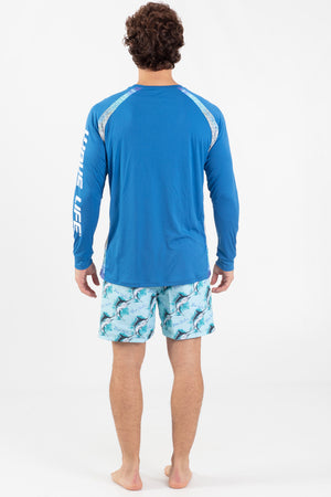 Blue Marlin L/S Performance Top