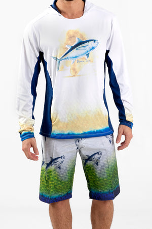 Tuna Performance Fishing Hoodie - Wavelife
