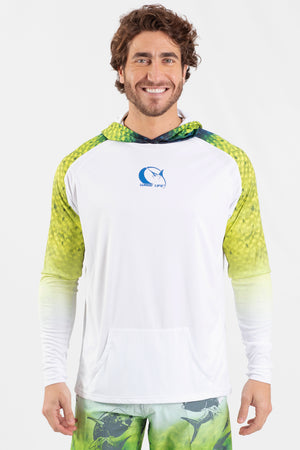 Mahi Mahi Performance Fishing Hoodie - Wavelife