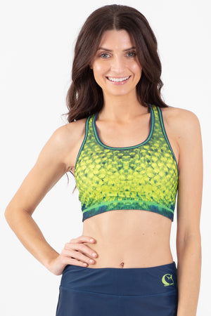 Mahi Mahi Reversible Active Crop Top