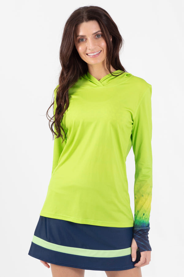 Mahi Mahi Long Sleeve Active Hoodie - Wavelife