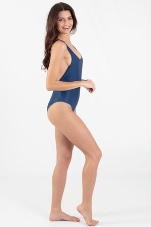 Mahi Mahi Reversible V-Neck One Piece