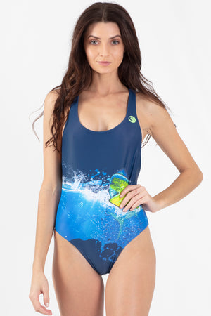 Mahi Mahi Reversible V-Neck One Piece - Wavelife