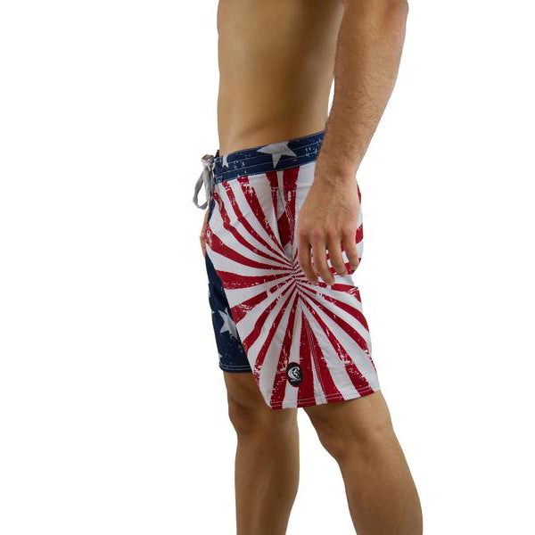 "AMERICAN SPIRIT 17"" VOLLEY SHORT"