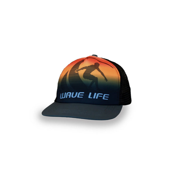 Printed Fade Logo Orange - Wavelife