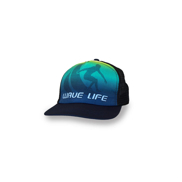 Printed Fade Logo Lime - Wavelife