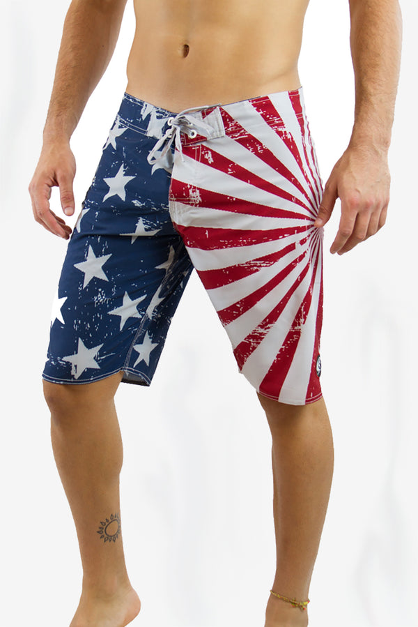 "AMERICAN SPIRIT 21"" VOLLEY SHORT"