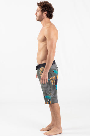 "TOUCAN JUNGLE 21"" ELASTIC WAIST BOARDSHORT"