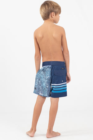 Word Rider Boys Elastic waist Volley Short
