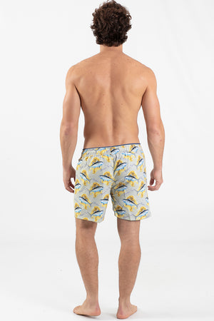 Tuna Elastic Waist Reversible Short - Wavelife