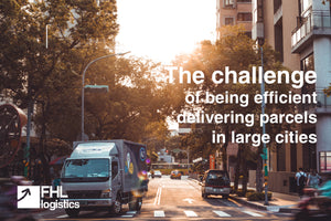 The challenge of being efficient delivering parcels in large cities