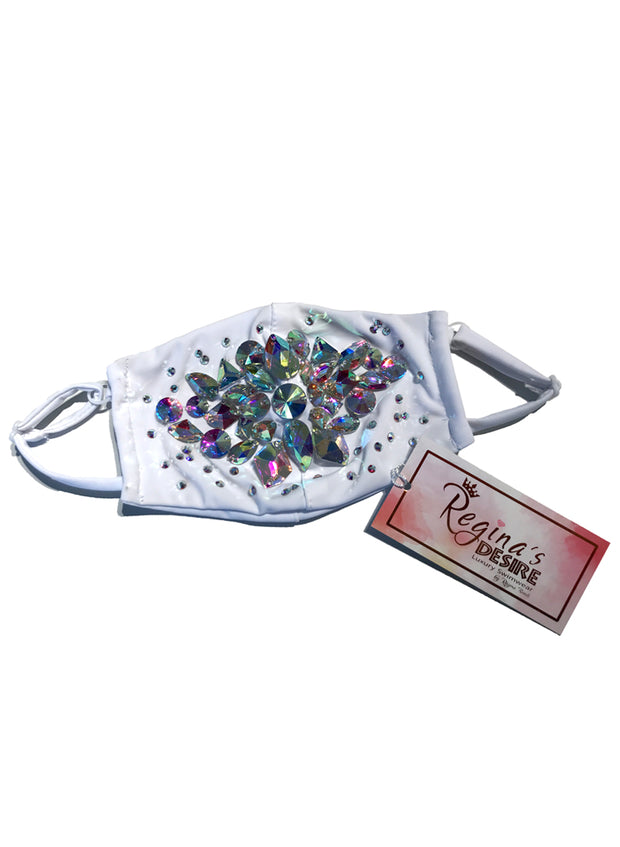 Shine Crystal Mask - Blanco